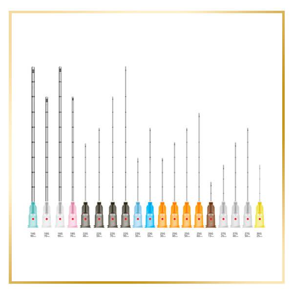 microcanulas de precision